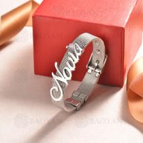 pulsera de charm en acero inoxidable para mujer -SSBTG142-16181-S
