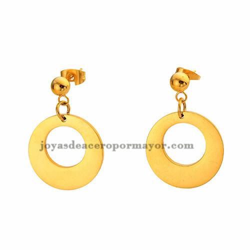 argollas de moda en acero inoxidable -SSEGG492138