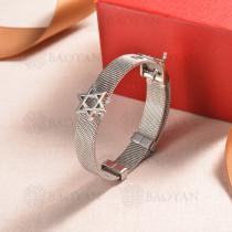 pulsera de charm en acero inoxidable para mujer -SSBTG142-16146-S