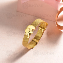 pulsera de charm en acero inoxidable para mujer -SSBTG142-16177-G