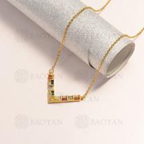 collar en oro golfi en bronce -BRNEG154-14892