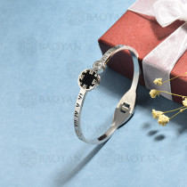 pulsera de acero inoxidable para mujer -SSBTG174-15349