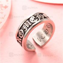 anillo de acero inoxidable para hombre -SSRGG97-2334
