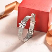 pulsera de charm en acero inoxidable para mujer -SSBTG142-16148-S