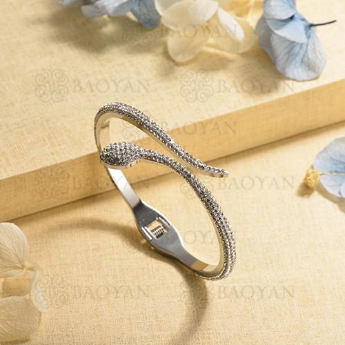 pulsera de charm en acero inoxidable para mujer -SSBTG40-17017