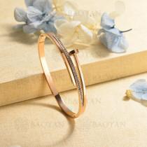 pulsera de charm en acero inoxidable para mujer -SSBTG40-16992