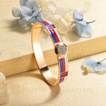 pulsera de charm en acero inoxidable para mujer -SSBTG40-16975