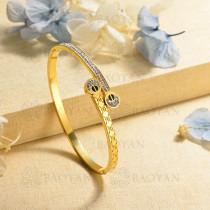 pulsera de charm en acero inoxidable para mujer -SSBTG40-16998