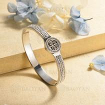 pulsera de charm en acero inoxidable para mujer -SSBTG40-16995
