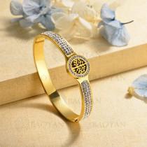 pulsera de charm en acero inoxidable para mujer -SSBTG40-16996