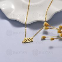 collar de acero inoxidable -SSNEG40-16910
