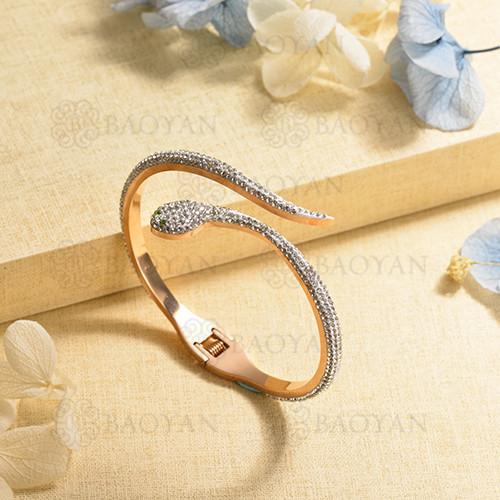 pulsera de charm en acero inoxidable para mujer -SSBTG40-17015