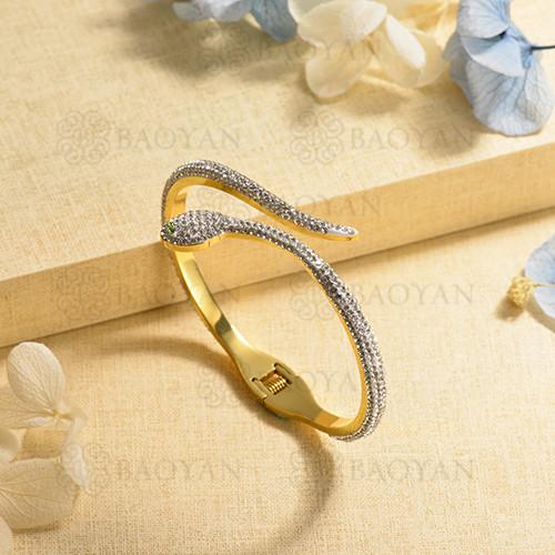 pulsera de charm en acero inoxidable para mujer -SSBTG40-17016
