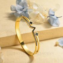 pulsera de charm en acero inoxidable para mujer -SSBTG40-17018