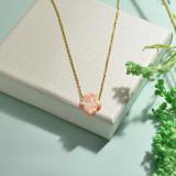 Collares de Opal Imitacion -SSNEG142-17490