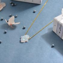 Collares de Opal Imitacion -SSNEG142-17460