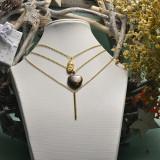 collares de acero inoxidable -SSNEG142-18641YO