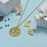 Juego de joyas de acero inoxidable -SSCSG143-19160TDL