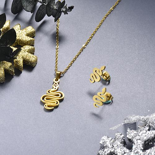 Juego de joyas de acero inoxidable -SSCSG143-19150TDL