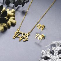 Juego de joyas de acero inoxidable -SSCSG143-19149TDL