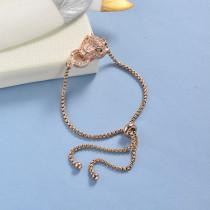 pulseras de 18k oro circones para mujeres -BRBTG154-19046