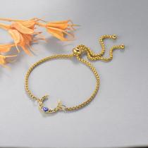 pulseras de 18k oro circones para mujeres -BRBTG154-19120