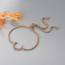 pulseras de 18k oro circones para mujeres -BRBTG154-19121