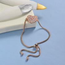 pulseras de 18k oro circones para mujeres -BRBTG154-19044