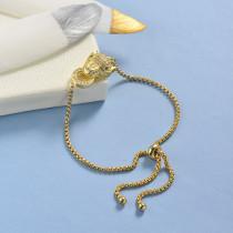 pulseras de 18k oro circones para mujeres -BRBTG154-19045