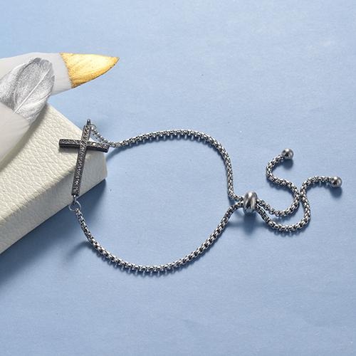 pulseras de 18k oro circones para mujeres -BRBTG154-19034