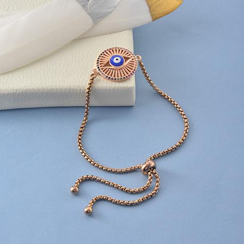 pulseras de 18k oro circones para mujeres -BRBTG154-19052