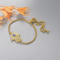 pulseras de 18k oro circones para mujeres -BRBTG154-19118