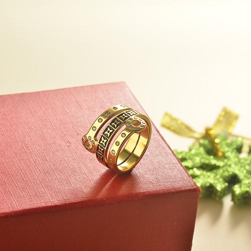 anillos de acero inoxidable -SSRGG40-19217