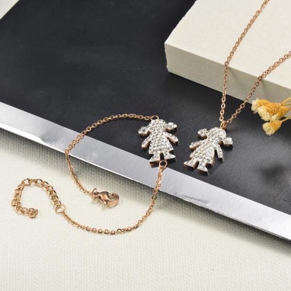 Conjunto de Cristal en Acero Inoxidable -SSBNG143-13001-R