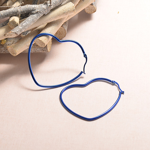 Stainless Steel Hoop Earrings -SSEGG07-20245T