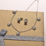 Stainless Steel Jewelry Sets -SSCSG126-20277Q