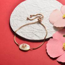 Brass Charm Bracelets -SSBTG141-20383J