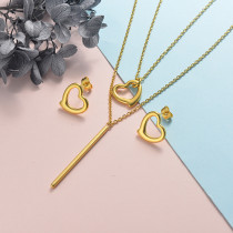 Stainless Steel Jewelry Sets -SSCSG126-20319YY