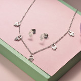 Stainless Steel Jewelry Sets -SSCSG126-20285Q