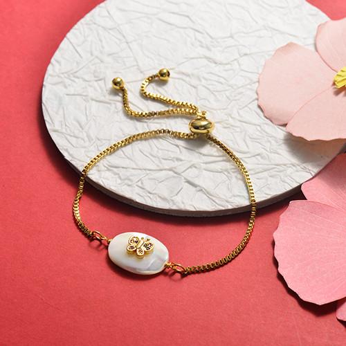 Brass Charm Bracelets -SSBTG141-20382J