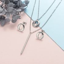 Stainless Steel Jewelry Sets -SSCSG126-20327J