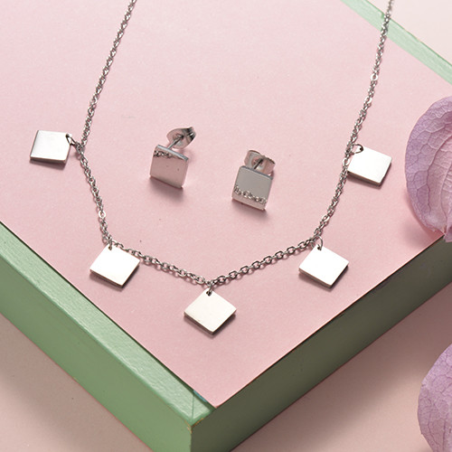 Stainless Steel Jewelry Sets -SSCSG126-20291Q