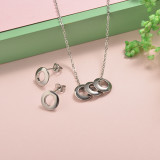 Stainless Steel Jewelry Sets -SSCSG126-20300Q