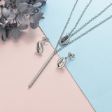 Stainless Steel Jewelry Sets -SSCSG126-20324J