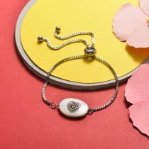 Brass Charm Bracelets -SSBTG141-20379B