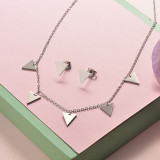 Stainless Steel Jewelry Sets -SSCSG126-20286Q