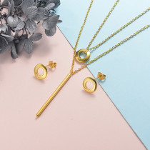 Stainless Steel Jewelry Sets -SSCSG126-20321YY