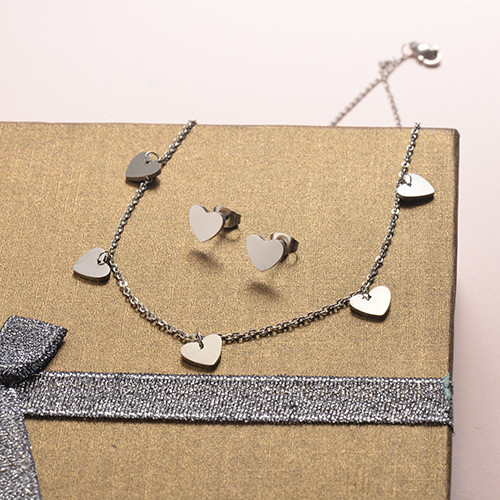Stainless Steel Jewelry Sets -SSCSG126-20282Q