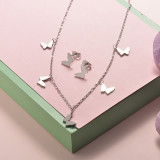 Stainless Steel Jewelry Sets -SSCSG126-20288Q