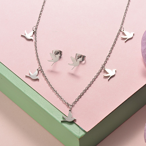 Stainless Steel Jewelry Sets -SSCSG126-20293Q